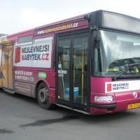 Polep autobusu Frýdek-Místek