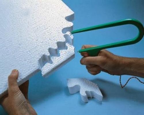 Tavné řezání polystyrenu