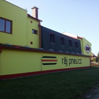 Malba na fasádu Ostrava
