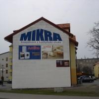 Malba na fasádu Frýdlant nad Ostravicí