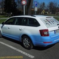 Celopolep auta pro firmu ING Corporation s.r.o.