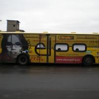 Polep autobusu pro Elpo Frýdek-Místek