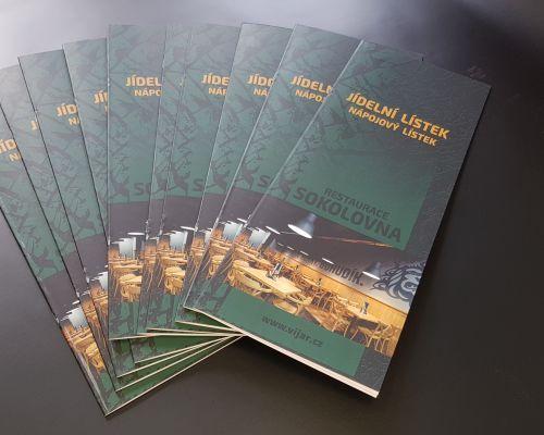 Tisk vizitek, letáků, brožur